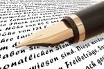 Füller mit Schrift
